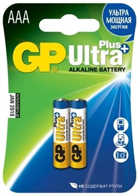 Батарея GP 24AUP-CR2 Ultra Plus AAA 2шт