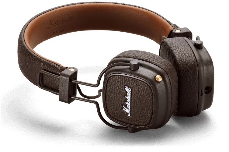 Гарнитура Marshall Major III Bluetooth Brown