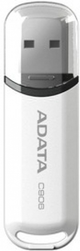 Флешка 16 Гб A-DATA C906 (AC906-16G-RWH) USB 2.0 Type A, белая