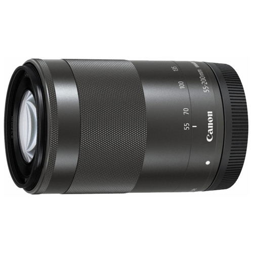 Объектив Canon EF-M 55-200mm f/4.5-6.3 IS STM черный